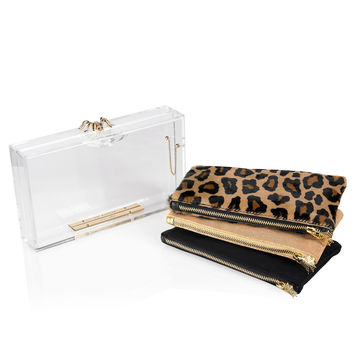 Charlotte Olympia Women's Designer Clutch Bags | Charlotte Olympia - PANDORA CLASSIC