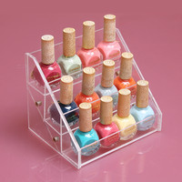 12 Cells Nail Polish Rack