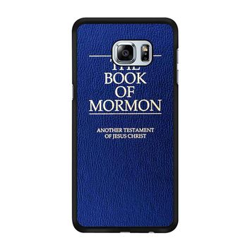 The Book Of Mormon Cover Book Samsung Galaxy S6 Edge Plus Case