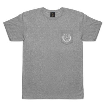 OWL CREST POCKET TEE SHORTSLEEVE T-SHIRT | October's Very Own
