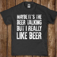 Maybe it's the Beer talking but i really like Beer t-shirt for Men new