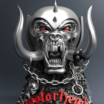 WARPIG (Motörhead) ROCK ICONZ STATUE