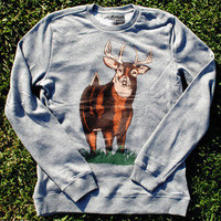 toddland — whitetail crew neck