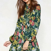 All Hearts and Flowers Mini Dress
