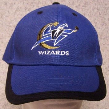 Embroidered Baseball Cap Sports NBA Washington Wizards NEW 1 size all Elevator