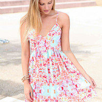 STEAL THE LIGHT DRESS , DRESSES, TOPS, BOTTOMS, JACKETS & JUMPERS, ACCESSORIES, 50% OFF SALE, PRE ORDER, NEW ARRIVALS, PLAYSUIT, COLOUR, GIFT VOUCHER,,Pink,Green,Print,SLEEVELESS,MINI Australia, Queensland, Brisbane