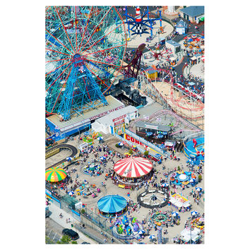 Gray Malin, Coney Island, Photographs