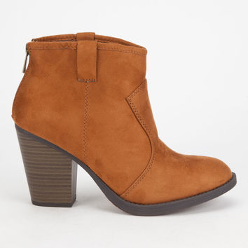 SODA Albert Western Womens Booties | Boots