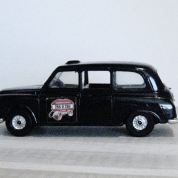 Vintage Austin London Taxi, Corgi Metal Toy Car