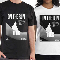 Beyonce and Jay Z On The Run tshirt