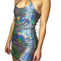 Oil Spill Glamourous Dress