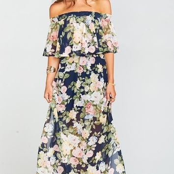 Hacienda Maxi Dress ~ Party Blossom