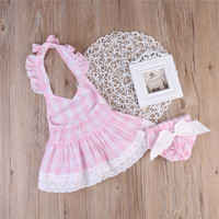 Toddler Kids Baby Girls Summer Flower Dress Princess Party Pageant Tutu Dresses Little girl in summer clothes