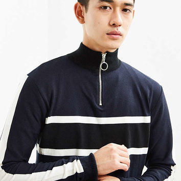 UO Zip Mock Neck Sweater | Urban Outfitters