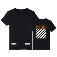 Men T Shirt Men  Off White Camouflage Striped Hip Hop Cotton Short sleeves men T Shirt OFF WHITE T Shirt Free shipping