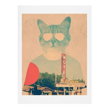 Ali Gulec Cool Cat Art Print
