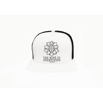 The Mind is Everything Buddha Trucker Hat