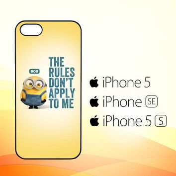 A Cute Collection Of Minions X4269  iPhone 5|5S|SE Case