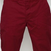 Norse Projects / Aros Heavy Chino In Red