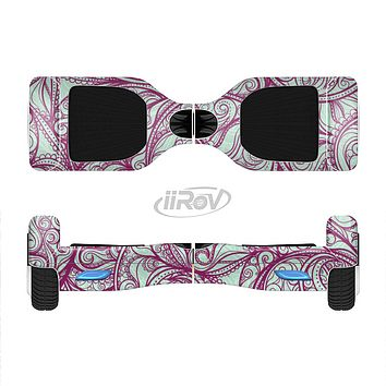 The Vector Purple Thin Laced Full-Body Skin Set for the Smart Drifting SuperCharged iiRov HoverBoard