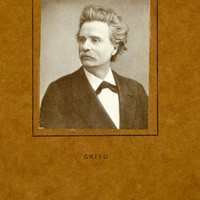 1911 Print Edvard Grieg Portrait Romantic Era Music Composer Pianist XMF2