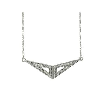 Geometric Triangle Pendants Necklace For Women
