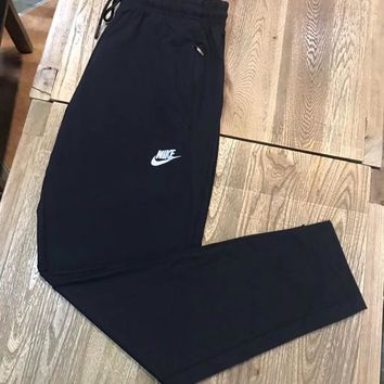 NIKE Woman Men Fashion Sport Running Pants Trousers Sweatpants