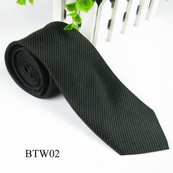 Classic Striped Jacquard Woven Silk Men's Tie Necktie Wedding Party Multi-ColorsSM6