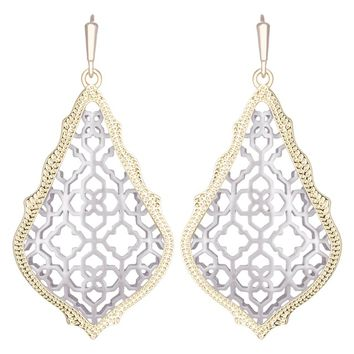 Kendra Scott Addie Silver Earrings