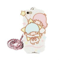 Little Twin Stars iPhone 6 Soft Case & Lanyard: Sky