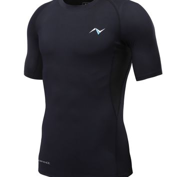 Men's Cool Dry Compression Short Sleeve T-Shirt