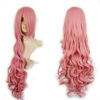 "Cool2day 40"" Long Anime Costume Curly Synthetic Hair Cosplay Party Wig (Model: Jf010124)"