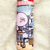 Regular Show Custom BIC Lighter