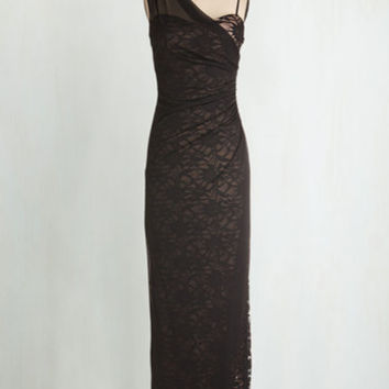 Long One Shoulder Maxi Any Way, Drape, or Form Dress