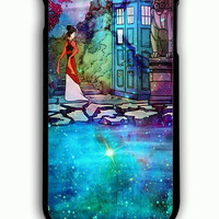 iPhone 6 Plus Case - Rubber (TPU) Cover with Disney Mulan The Tardis Rubber Case Design