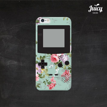 iphone 6 case gameboy mint floral iphone 6 plus case childhood toy iphone 5 case iphone 5s case iphone 5c case iphone 4 case iphone 4s case