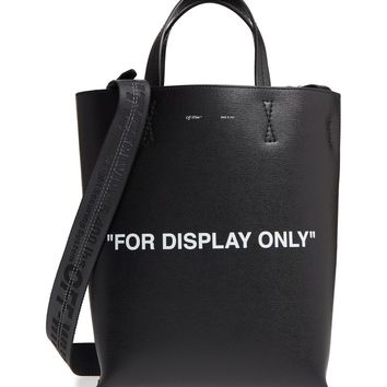 Off-White Virgil Was Not Here Leather Tote | Nordstrom