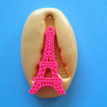 EIFFEL TOWER Silicone MOLD - Mould, Decoden Mold, Soap, wax, Jewel, Candy, Cake Decoration, Scrapbook, Royal Icing, Cupcake, Food Safe Mold