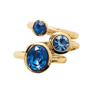 Southern Sparkle Stacking Ring Trio