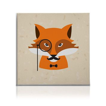 Hipster Animals Pictures Canvas Wall Art Decal Painting Prints Fox