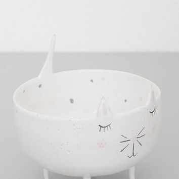 Claudia Cat Trinket Dish