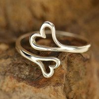 Infinite Love Ring- Sterling Silver