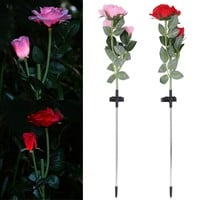 Solar Power Rose Flower Light