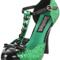 Funtasma by Pleaser Women's Festive T-Strap Pump