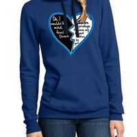 the fault in our stars royal blue hoodie