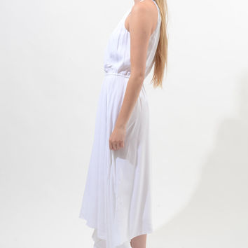 Black House White Market White Maxi Dress