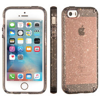 CANDYSHELL CLEAR WITH GLITTER IPHONE SE, IPHONE 5S & IPHONE 5 CASES
