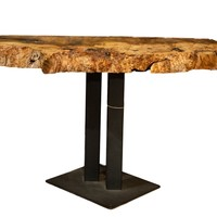 Live Edge Side End Table