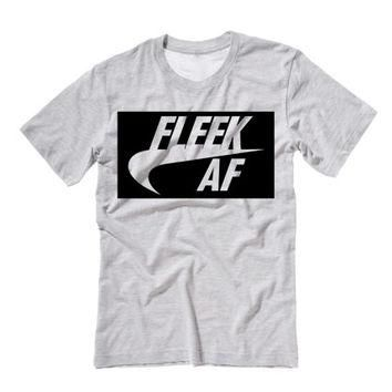 Fleek AF Unisex Tee Shirt | Eyebrows on Fleek Shirt | Drake Lit Fam Yeezy Drizzy Shirt
