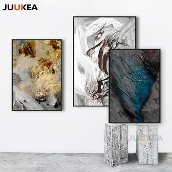 Huge Size Freedom Accumulation Modern Abstract Art Canvas Print Painting Poster Wall Pictures For Living Room Cuadros Decoration